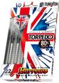 Harrows Torpedo 80% Tungsten Steeltip Dartpile 23g